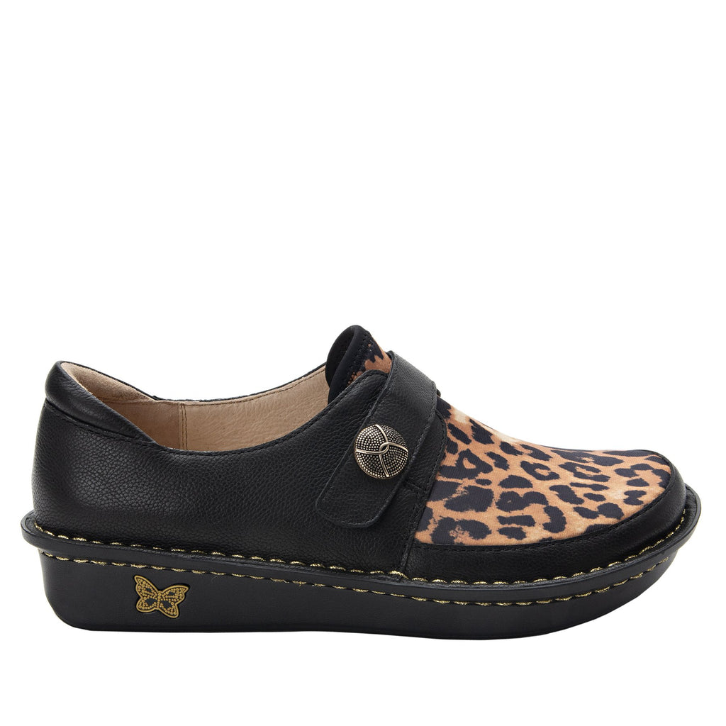 Brenna Leopard Shoe with Dream Fit technology paired with mini outsole - BRE-402_S2