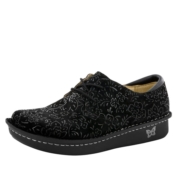 Bree Black Sprigs Shoe - Alegria Shoes - 1
