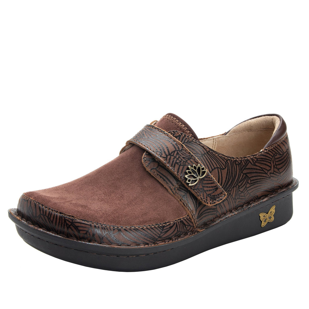 Brenna Cocoa Leaf Shoe with Dream Fit technology paired with mini outsole - BRE-553_S1