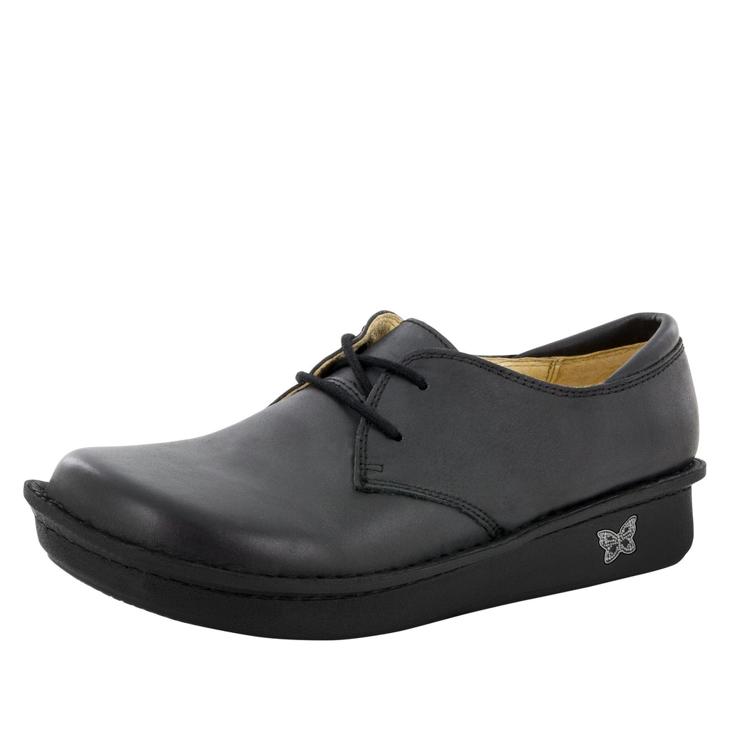 Bree Burnish Black Shoe - Alegria Shoes