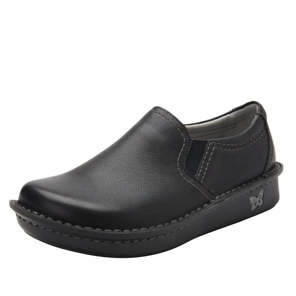 Brook Upgrade slip-on shoe on mini outsole, with double elastic gore for ease of wear - BRO-161_S1