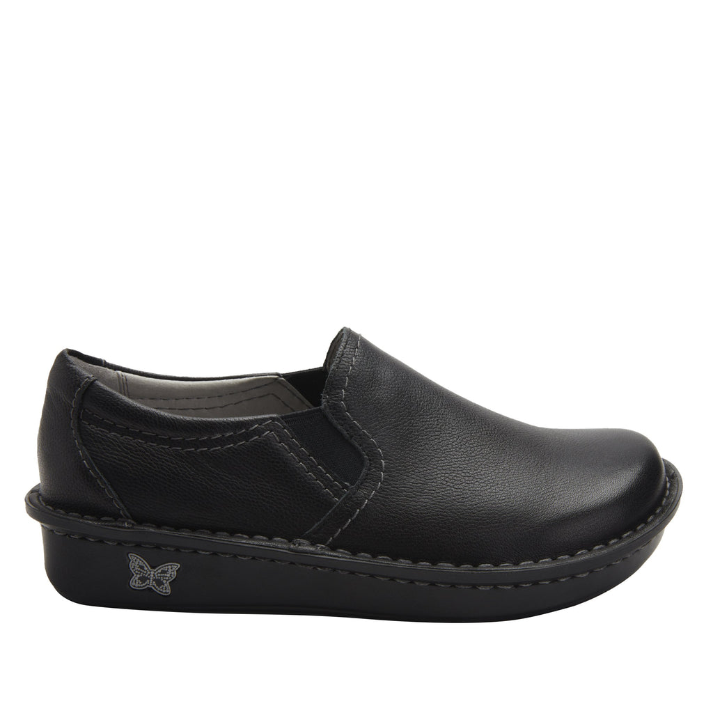 Brook Upgrade slip-on shoe on mini outsole, with double elastic gore for ease of wear - BRO-161_S2