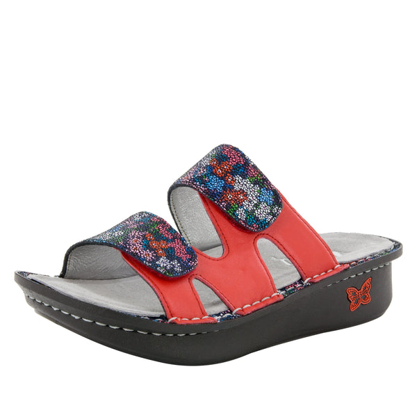 Camille Botanicool Sandal with dual adjustable strap on Classic rocker outsole - CAM-225_S1