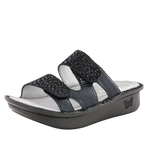 Camille Tile Me More Black Sandal