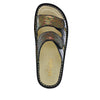 Camille Copper Tones slide sandal with cutout design on classic rocker outsole - CAM-930_S4