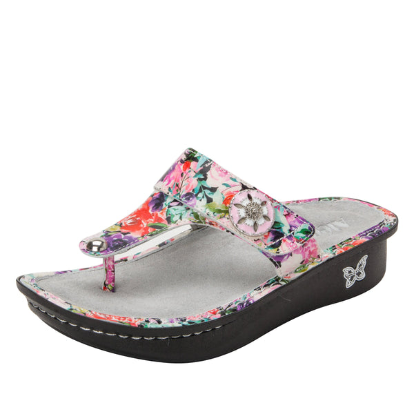 Carina Lighten Up thong style sandal on classic rocker outsole - CAR-229_S1