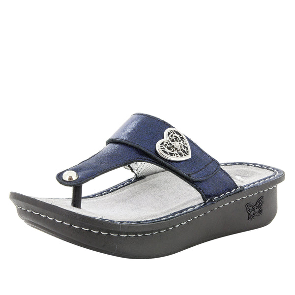 Carina Dusk thong style sandal on the Classic rocker outsole - CAR-284_S1