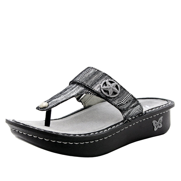 Carina Circulate thong style sandal on classic rocker outsole - CAR-496_S1