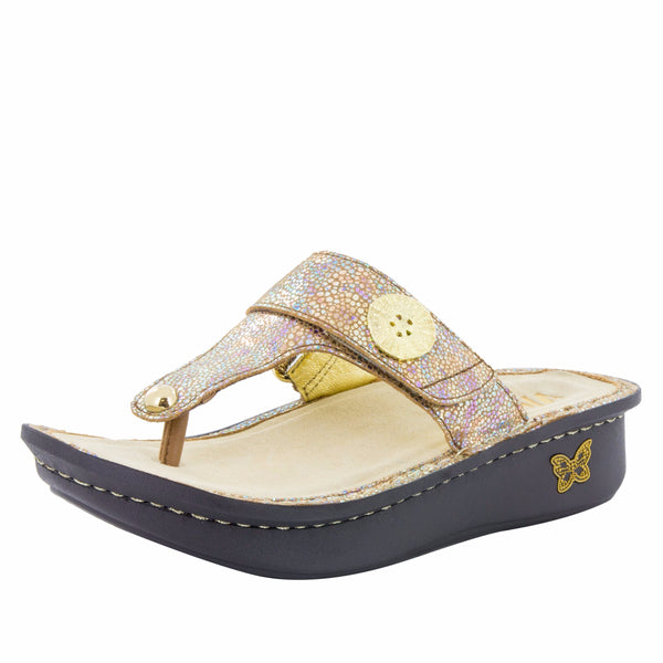 Carina Sand Do's thong style sandal on the Classic rocker outsole - CAR-255_S1