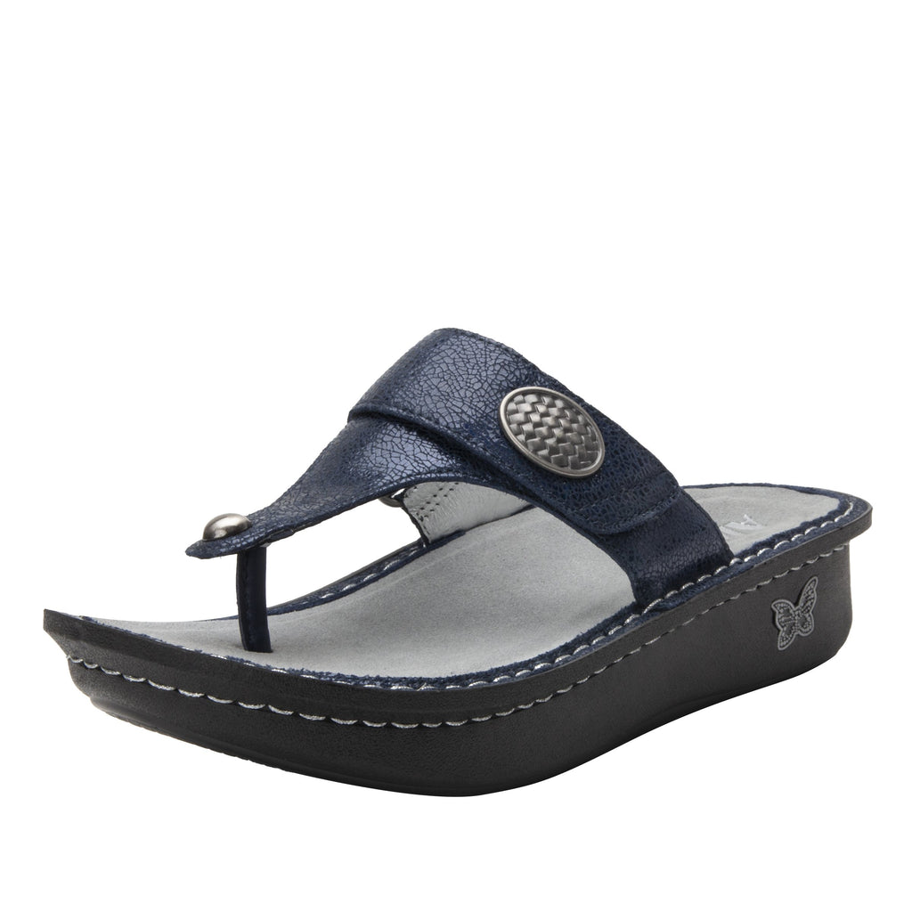Carina 5th Dimension thong style sandal on the Classic rocker outsole - CAR-7719_S1