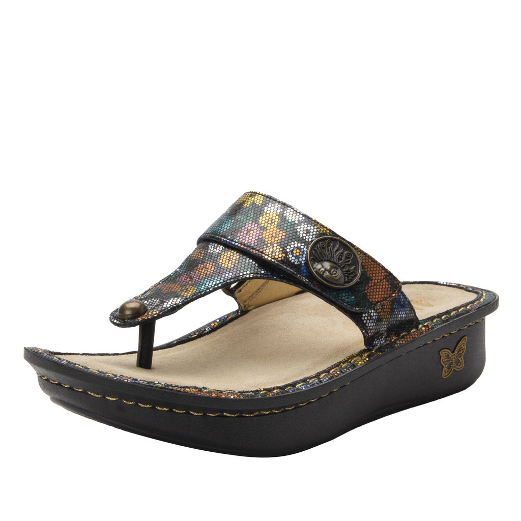 Carina Carefree thong style sandal on the Classic rocker outsole - CAR-7742_S1