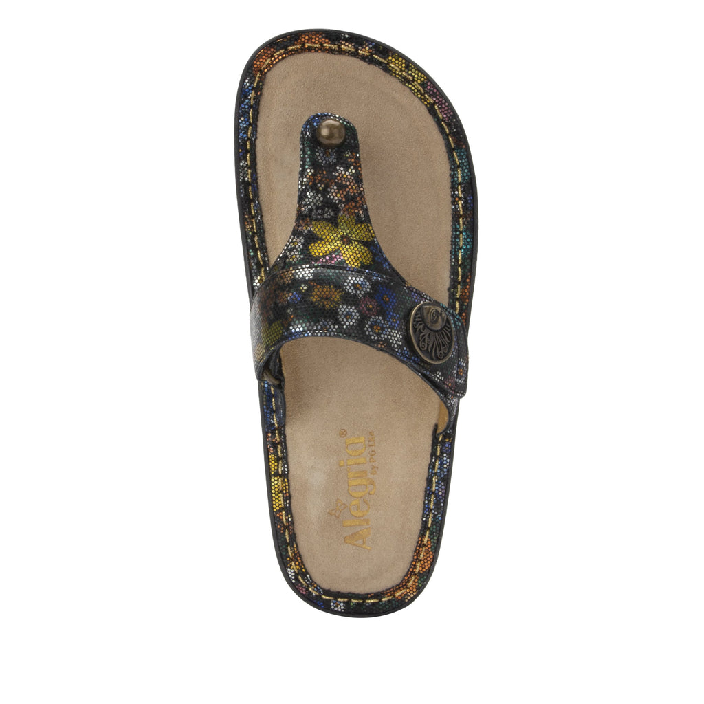 Carina Carefree thong style sandal on the Classic rocker outsole - CAR-7742_S5