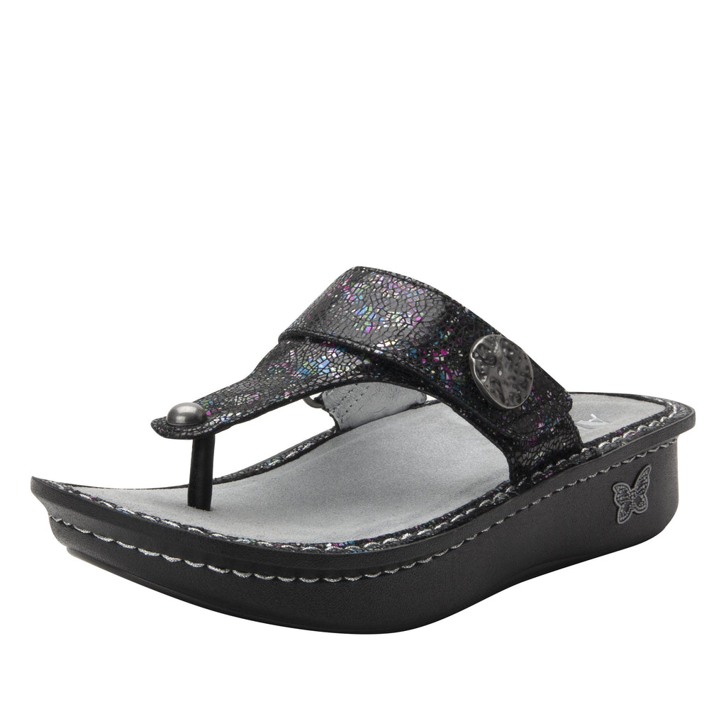 Carina Chromatic thong style sandal on the Classic rocker outsole - CAR-7743_S1
