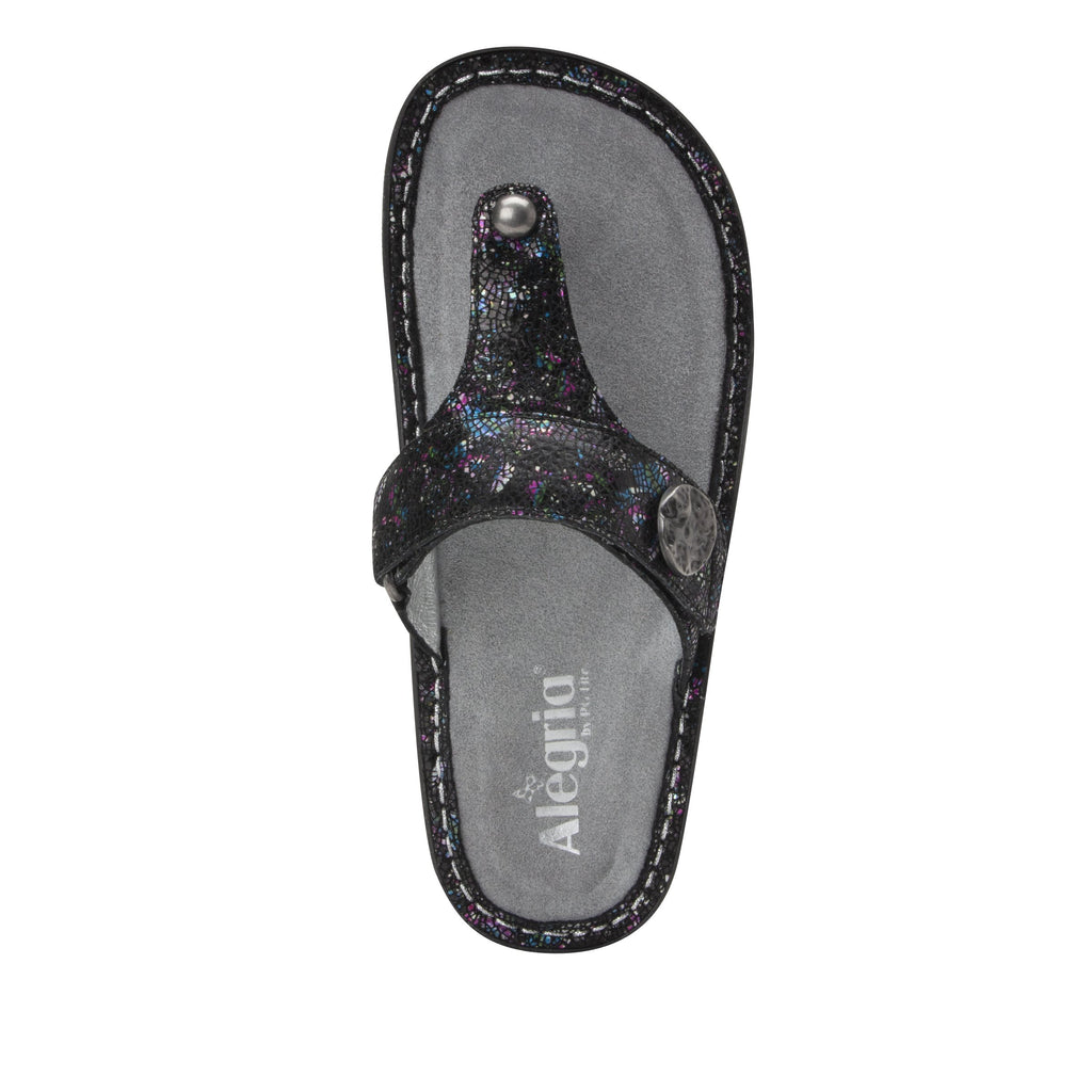 Carina Chromatic thong style sandal on the Classic rocker outsole - CAR-7743_S5