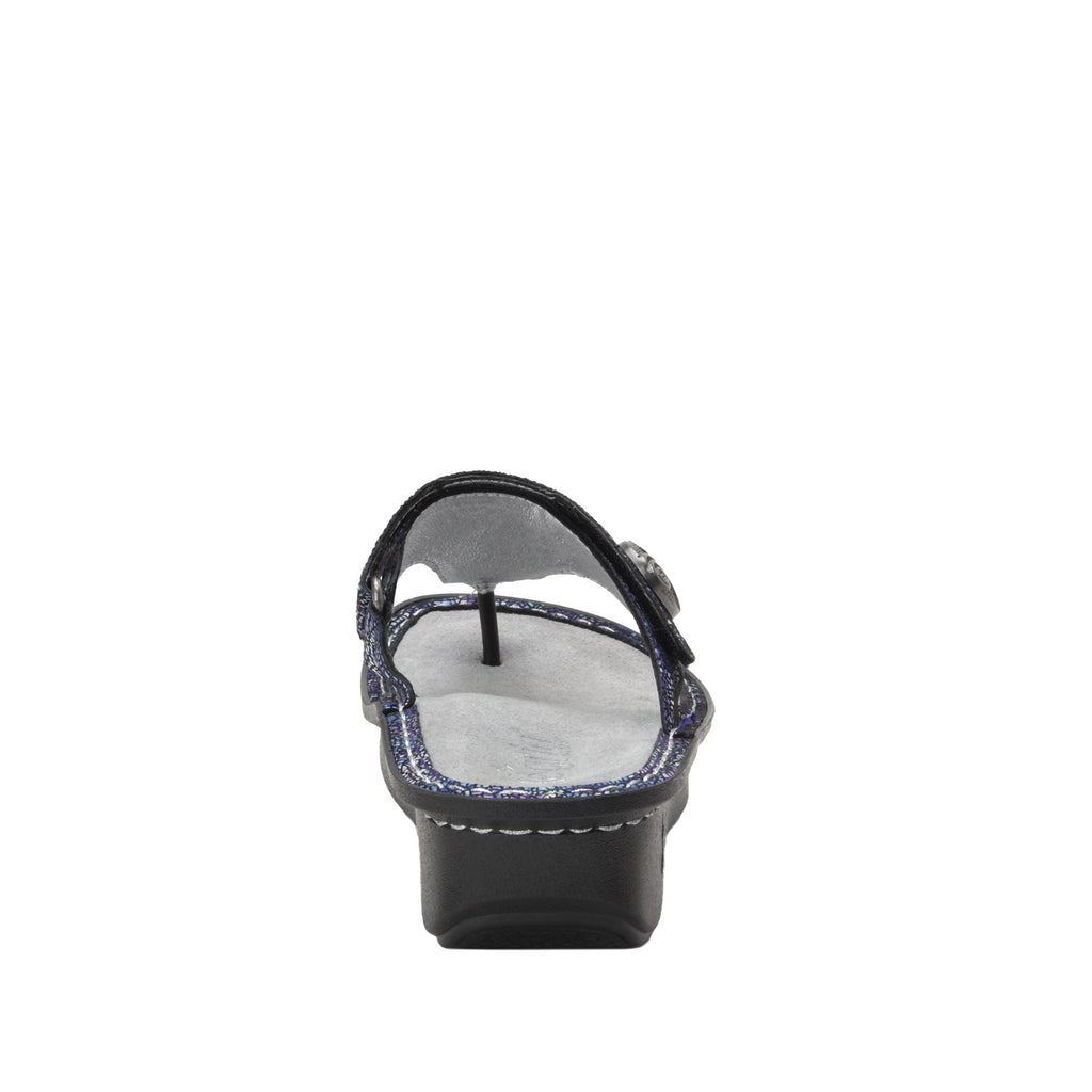 Carina Purple Swell thong style sandal on the Classic rocker outsole - CAR-7744_S4