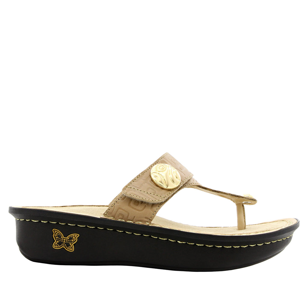 Carina Basically Amazing thong style sandal on classic rocker outsole - CAR-876_S2