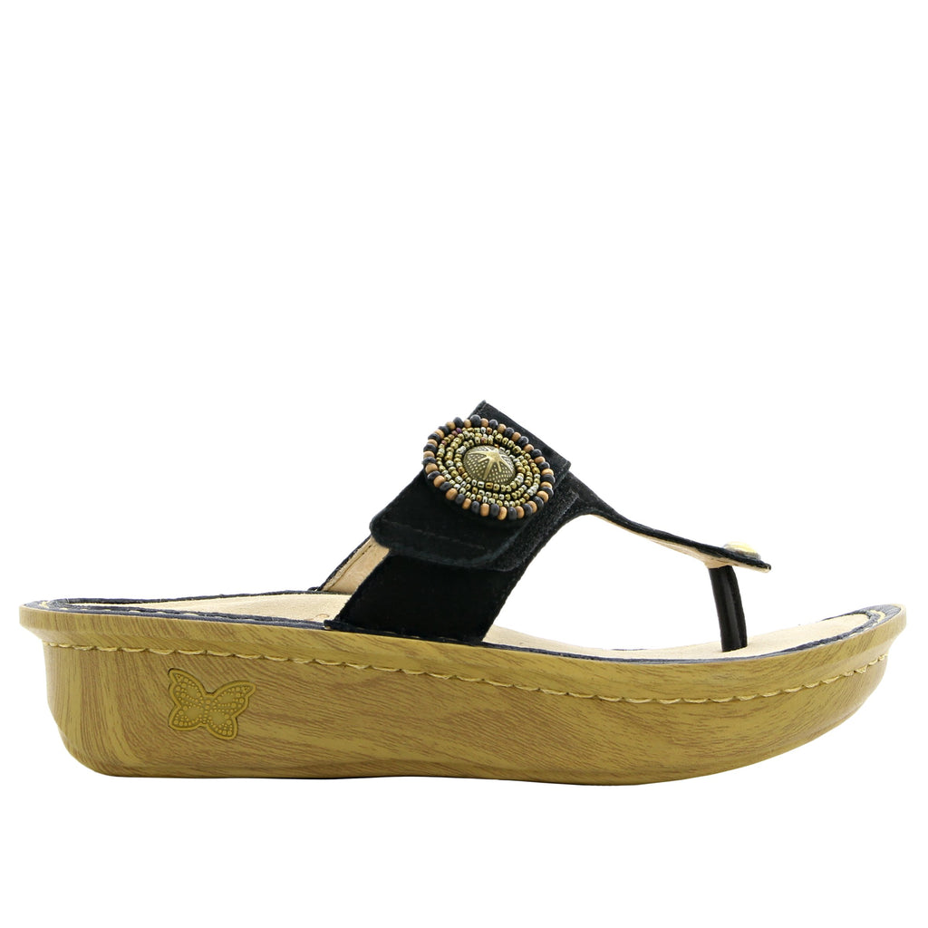 Carina Folkie thong style sandal on classic rocker outsole - CAR-877_S2