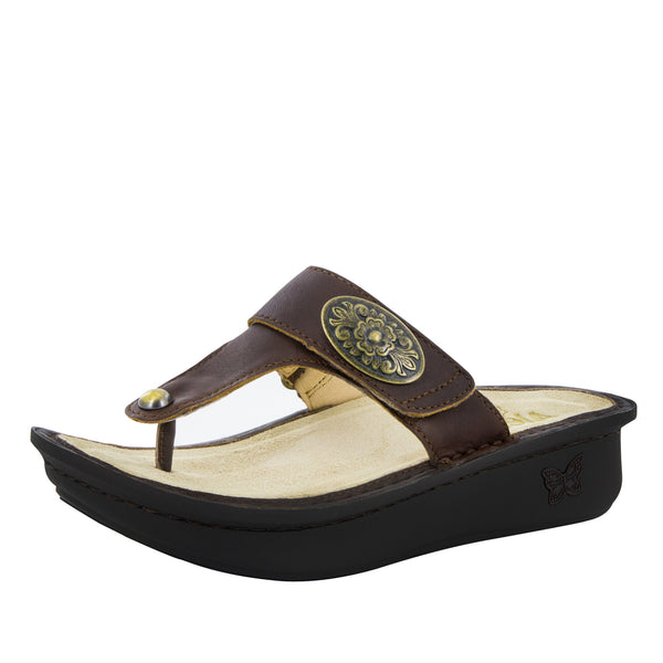 Carina Hickory Sandal - Alegria Shoes - 1
