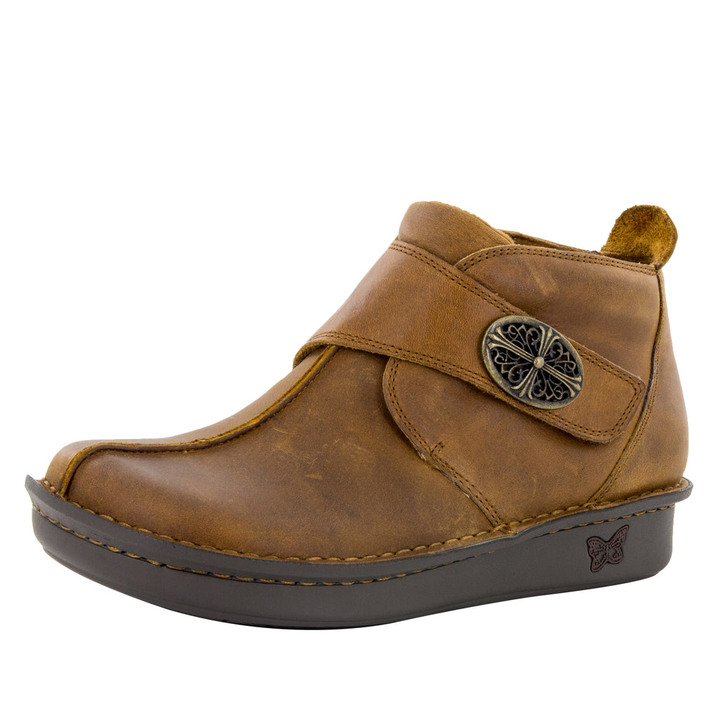 Caiti Walnut Boot with adjustable strap on the mini outsole - CAT-739_S1 (10468333901)