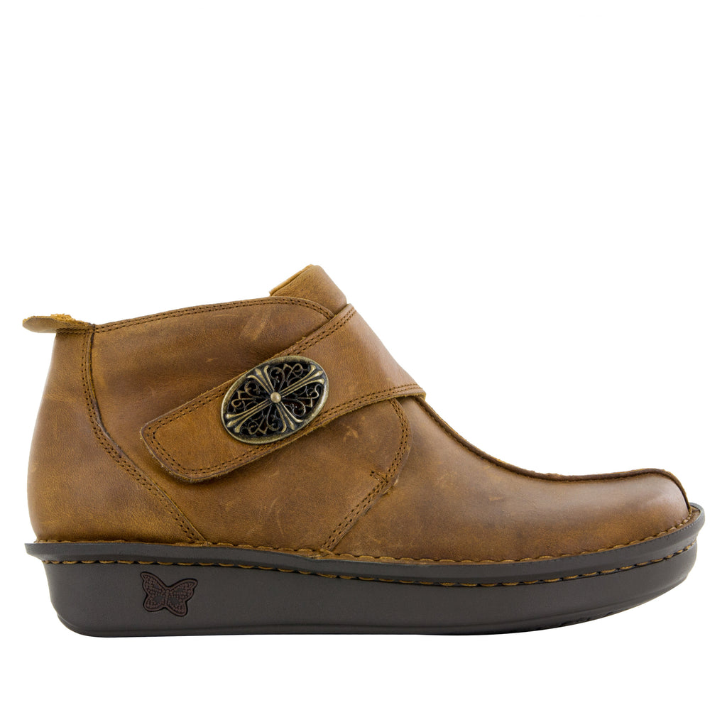 Caiti Walnut Boot with adjustable strap on the mini outsole - CAT-739_S2 (10468333901)