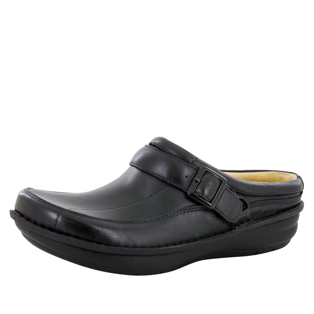 Alegria Men's Chairman Black Nappa Shoe - Alegria Shoes (6011860673)
