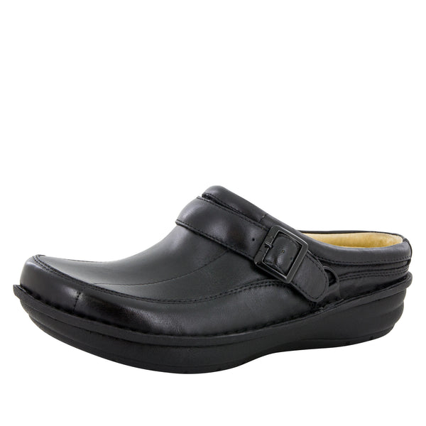 Alegria Men's Chairman Black Nappa Shoe - Alegria Shoes
