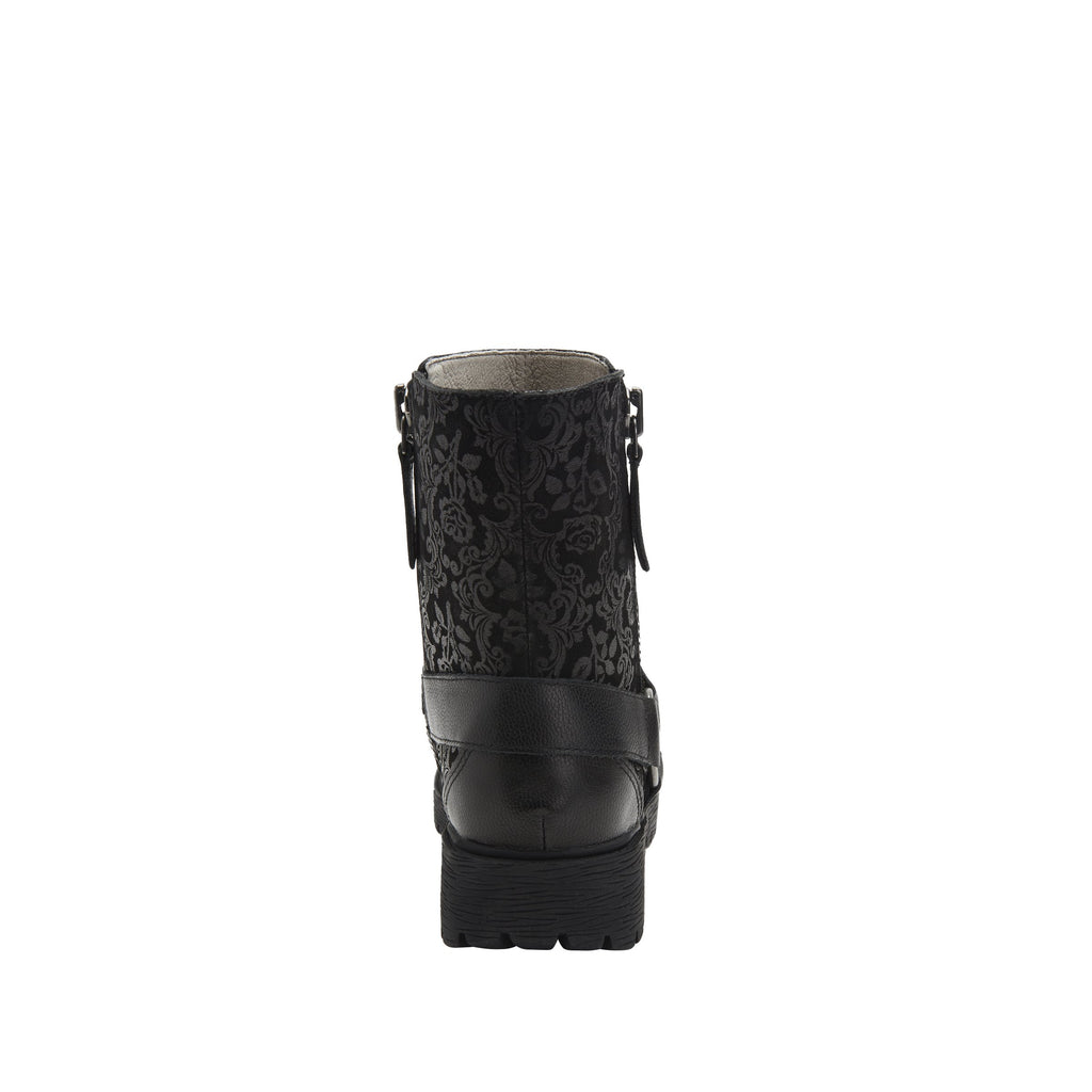 Charlette Goth You're Cool boot with rugged lug inspired outsole- CHA-7928_S3