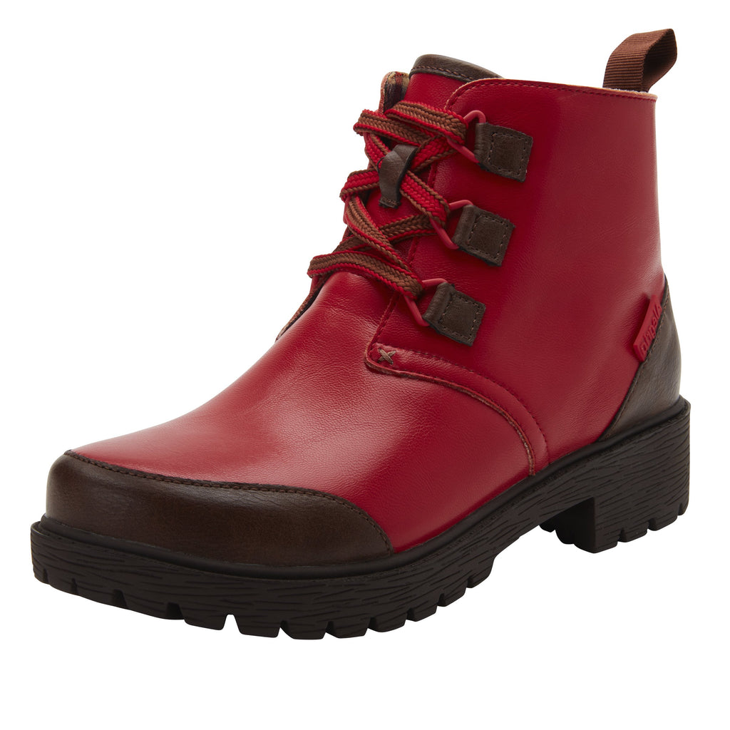 Cheri Ketchup water-resistant boot with rugged lug inspired outsole- CHR-7940_S1