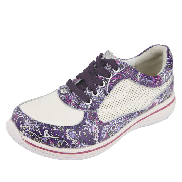 Cindi Purple Haze Professional Nursing Shoe - Alegria Shoes