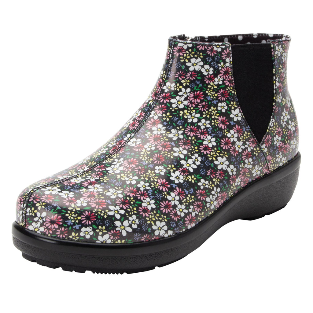 Climatease weather resistant Wild Flower Boot with trim comfort outsole. CLI-5648_S1 (2146054504502)