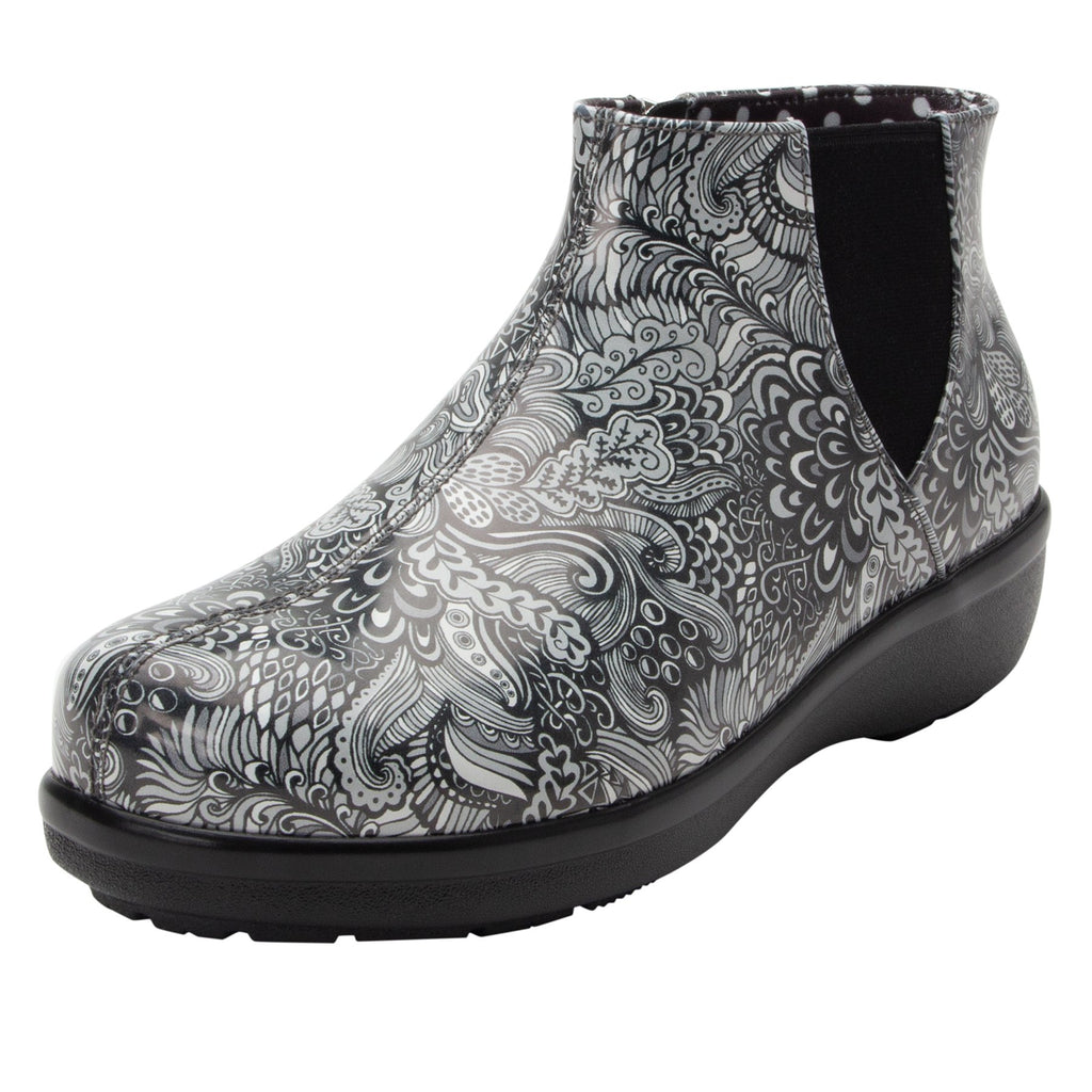 Climatease weather resistant Wild Child Black Boot with trim comfort outsole. CLI-5994_S1 (2146054471734)