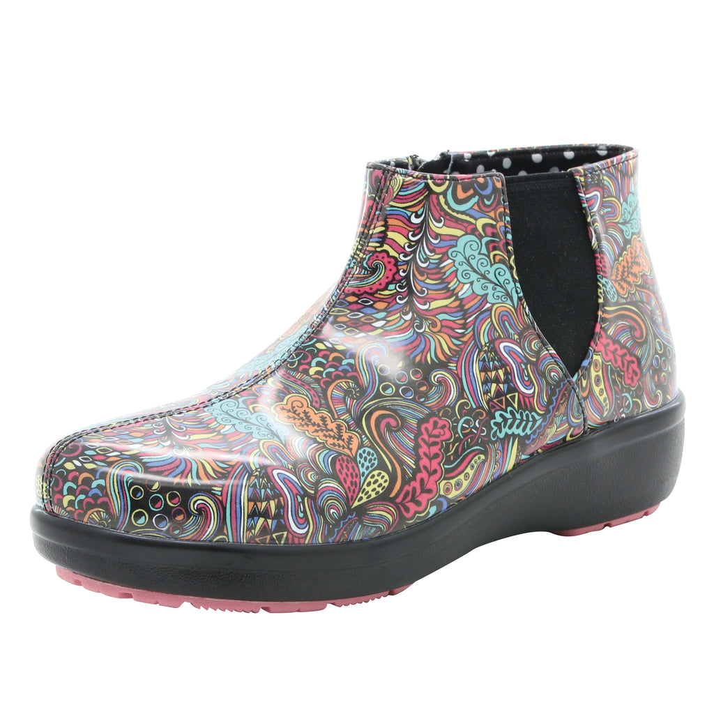Climatease weather resistant Whack A Doodle Pink Boot with Q-sport comfort outsole. CLI-792_S1 (518048514102)