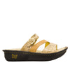 Colette Posh Gold Sandal - Alegria Shoes - 2