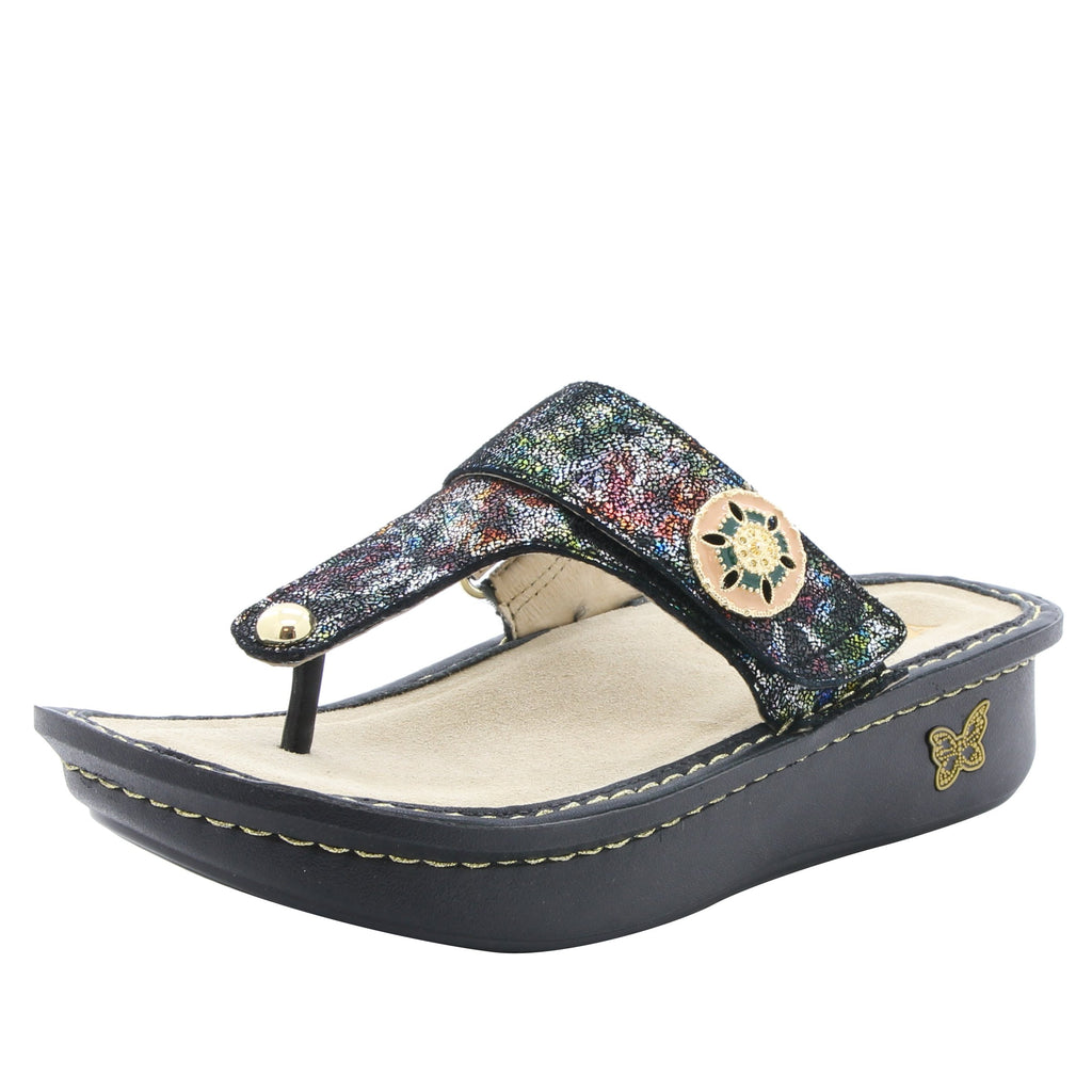 Carina Veranda thong style sandal on classic rocker outsole - CAR-479_S1