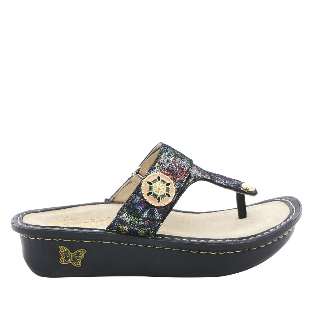 Carina Veranda thong style sandal on classic rocker outsole - CAR-479_S2