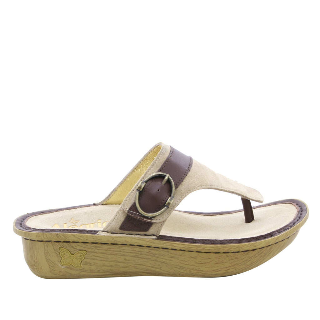 Codi Sand thong style sandal on classic rocker outsole - COD-680_S2