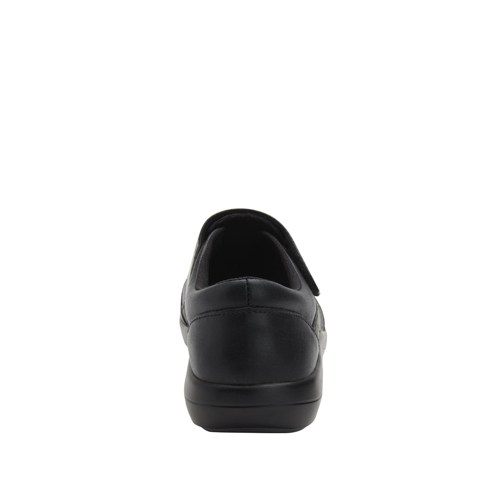 Daisie Black Lilt sport rocker shoe with dual density polyurethane outsole and adjustable hook-and-loop strap. DAI-7865_S3
