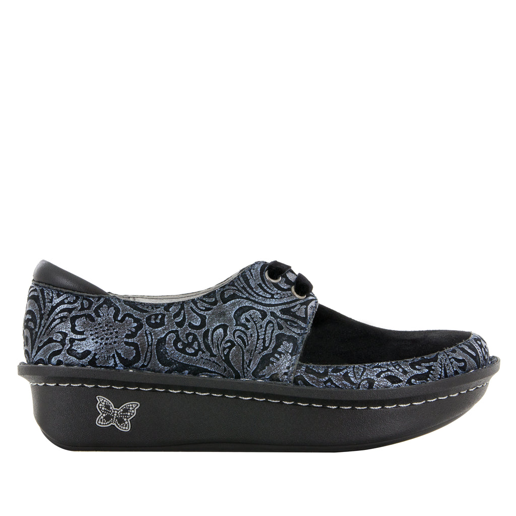 Dani Navy Swish lace up shoe with Dream Fit technology on the Classic Rocker outsole - DAN-262_S2