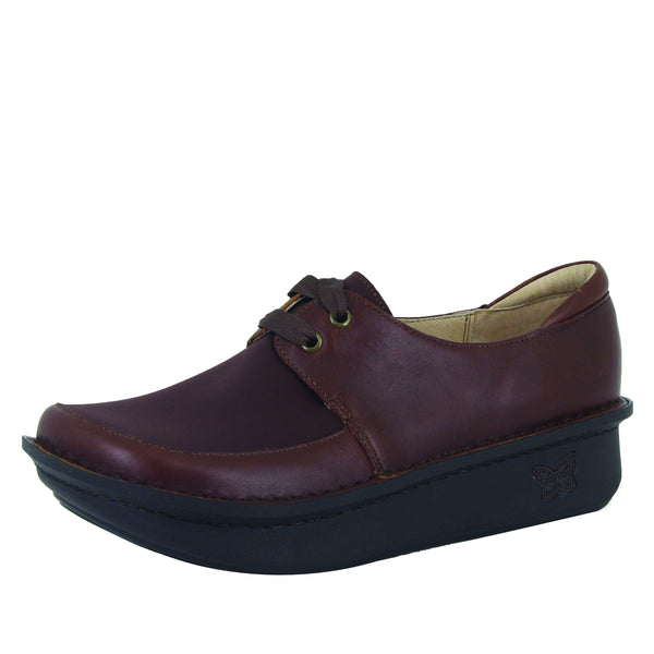 Dani Hazelnut lace up shoe with Dream Fit technology on the Classic Rocker outsole - DAN-656_S1