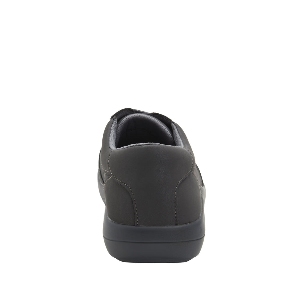 Daphne Grey Softie sport rocker shoe with dual density polyurethane outsole and laces for adjustability. DAP-7898_S3