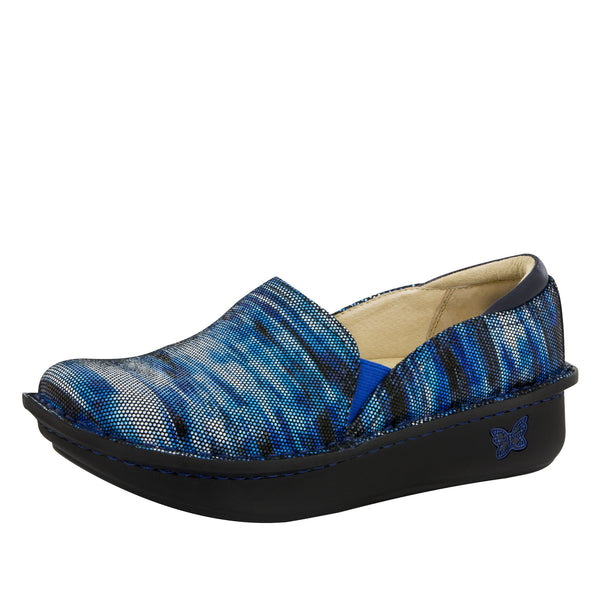 Debra Wavy Navy Shoe - Alegria Shoes - 1