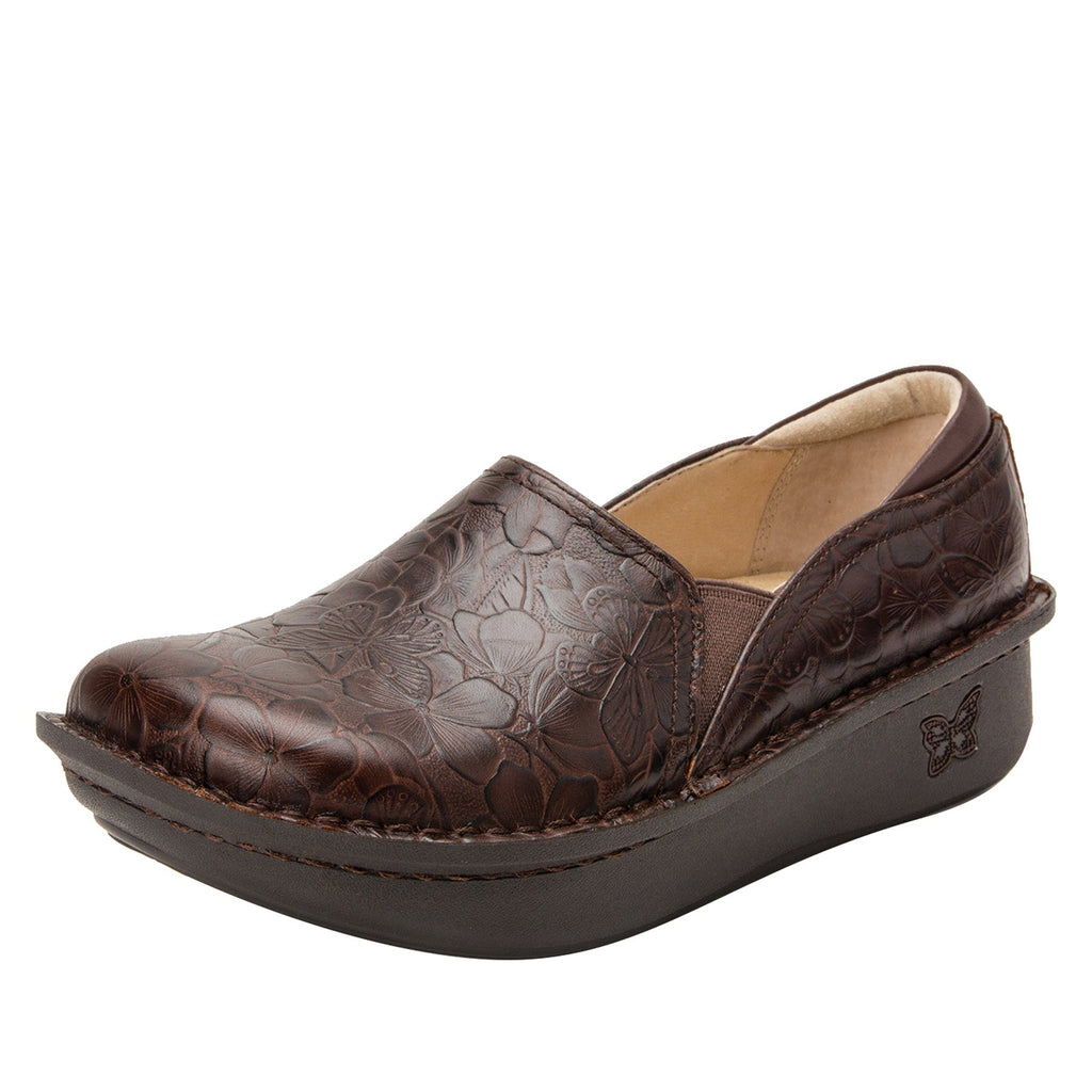 Debra Flutter Choco slip-on shoe with Classic Rocker Bottom - DEB-275_S1 (2301181886518)