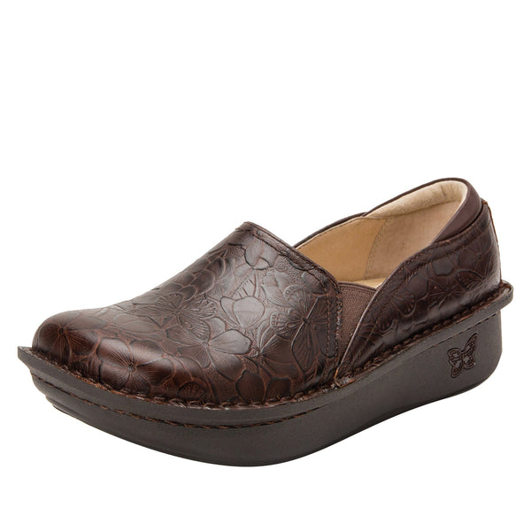 Debra Flutter Choco slip-on shoe with Classic Rocker Bottom - DEB-275_S1