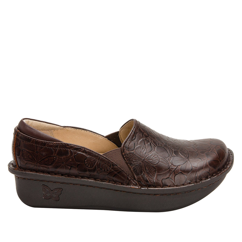 Debra Flutter Choco slip-on shoe with Classic Rocker Bottom - DEB-275_S2 (2301181886518)