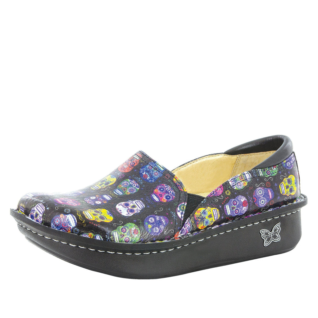 Debra Sugar Skulls Shoe - Alegria Shoes - 1
