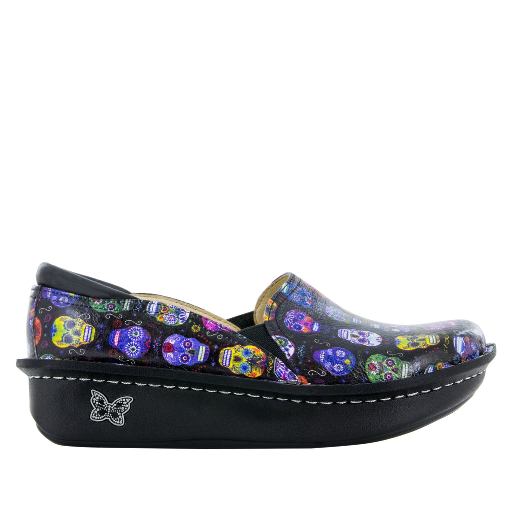 Debra Sugar Skulls Shoe - Alegria Shoes - 2 (6088941377)