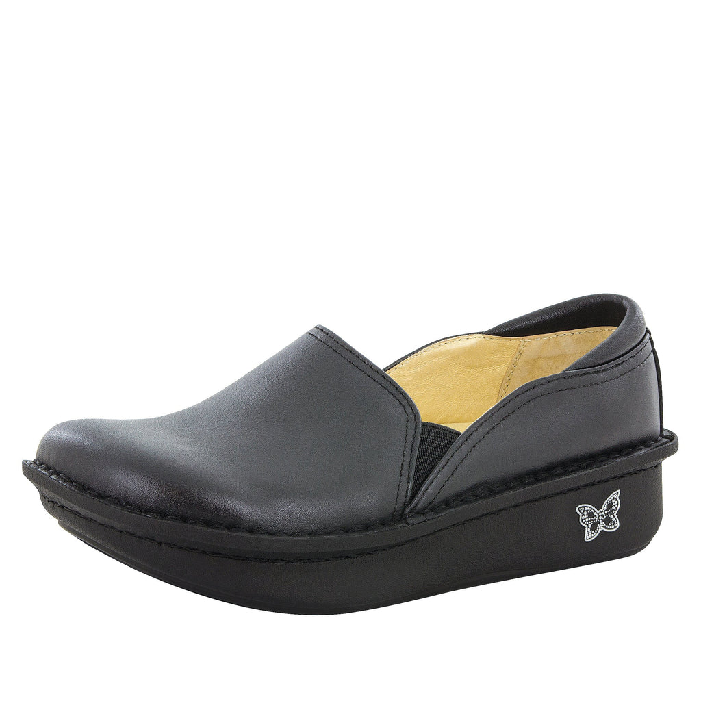 Debra Black Nappa Shoe - Alegria Shoes - 1