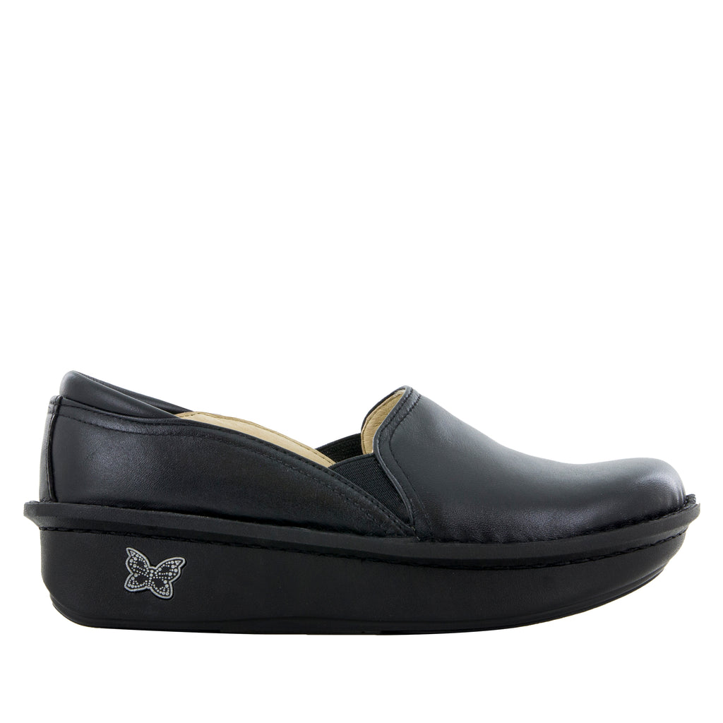 Debra Black Nappa Shoe - Alegria Shoes - 2 (6088947521)