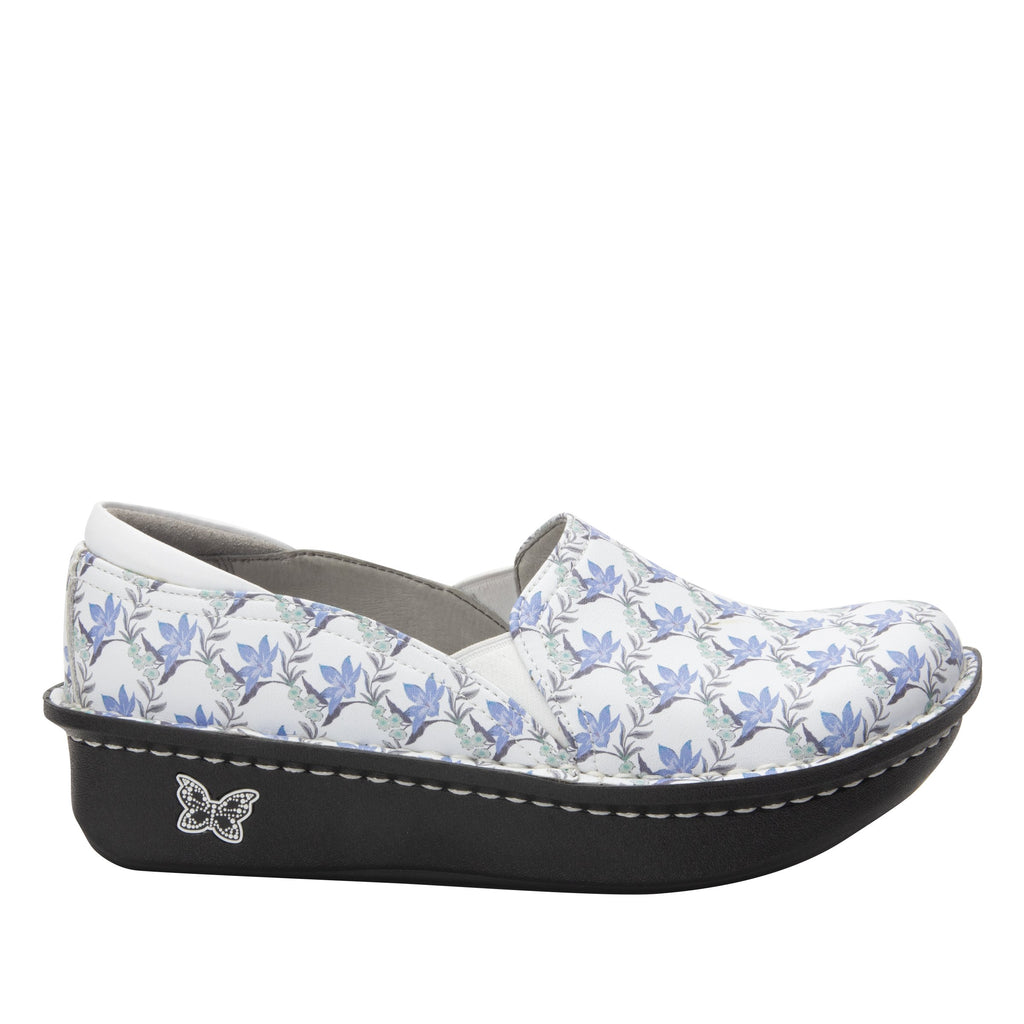 Debra Aloha White slip-on shoe with Classic Rocker Bottom - DEB-7709_S2