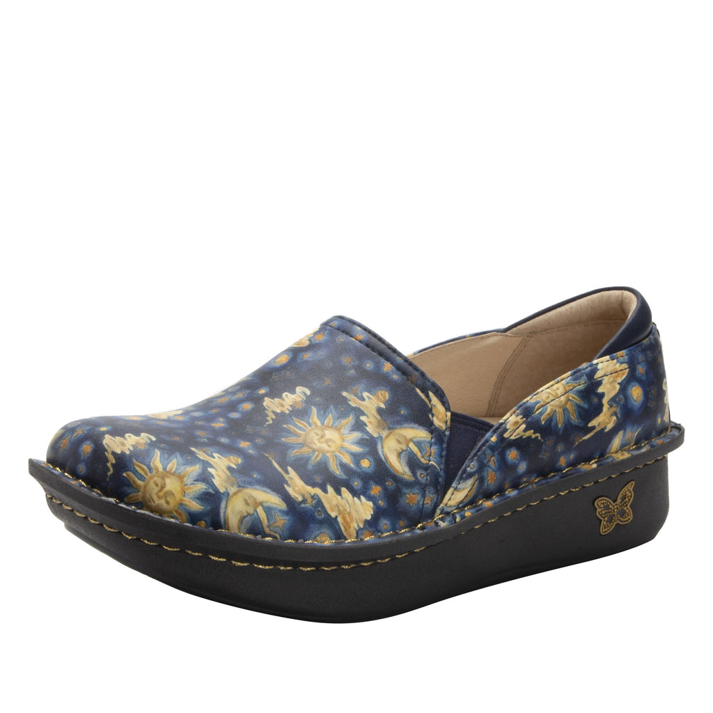 Debra Lullaby slip-on shoe with Classic Rocker Bottom - DEB-7710_S1